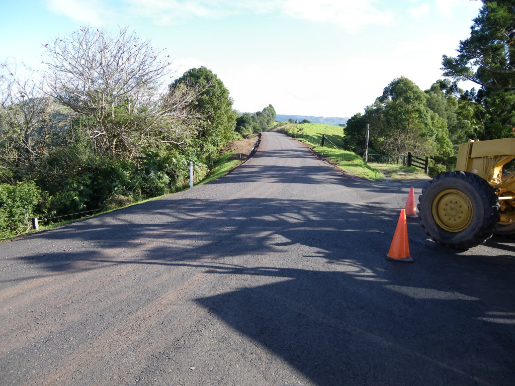 Watson Lane Maleny Road reconstruction - Sayer Civil